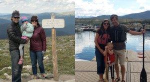 Wolak family hike and paddle