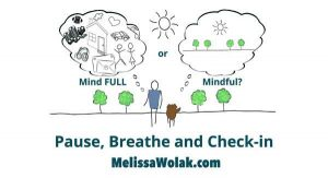 Are you feeling mind full or mindful by Melissa Wolak