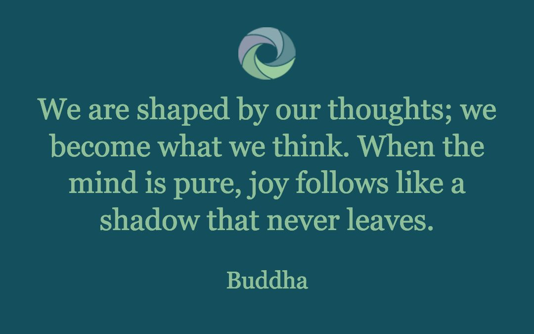 """Melissa Wolak, Intentions - """"We are shaped by our thoughts; we become what we think. When the mind is pure, joy follows like a shadow that never leaves."""" Budda - from Melissa Wolak, MS"""