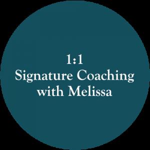 signature coaching with melissa
