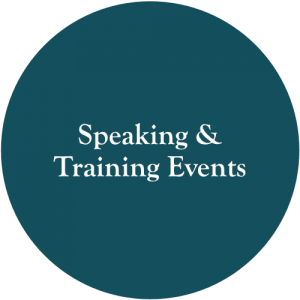 speaking and training events